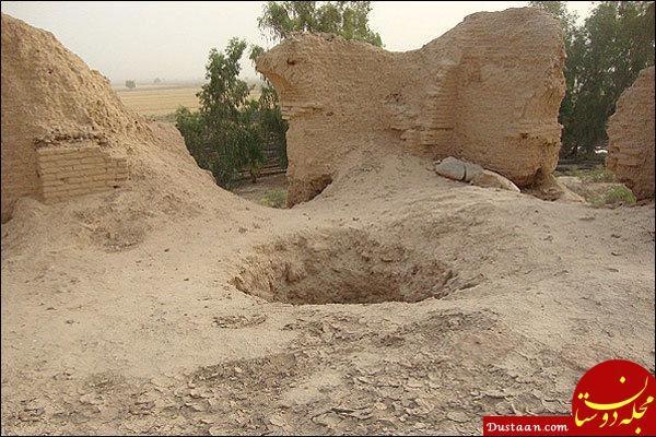 www.dustaan.com حفاری غیرمجاز در مازندران حفاران را بلعید