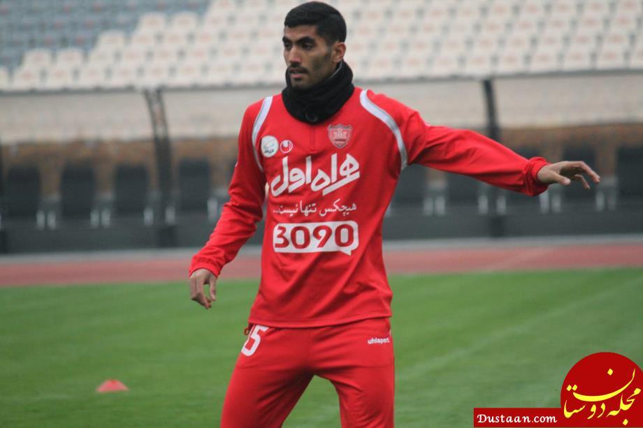 www.dustaan.com محمد انصاری: از ضربه مغزی جان سالم به در بردیم!