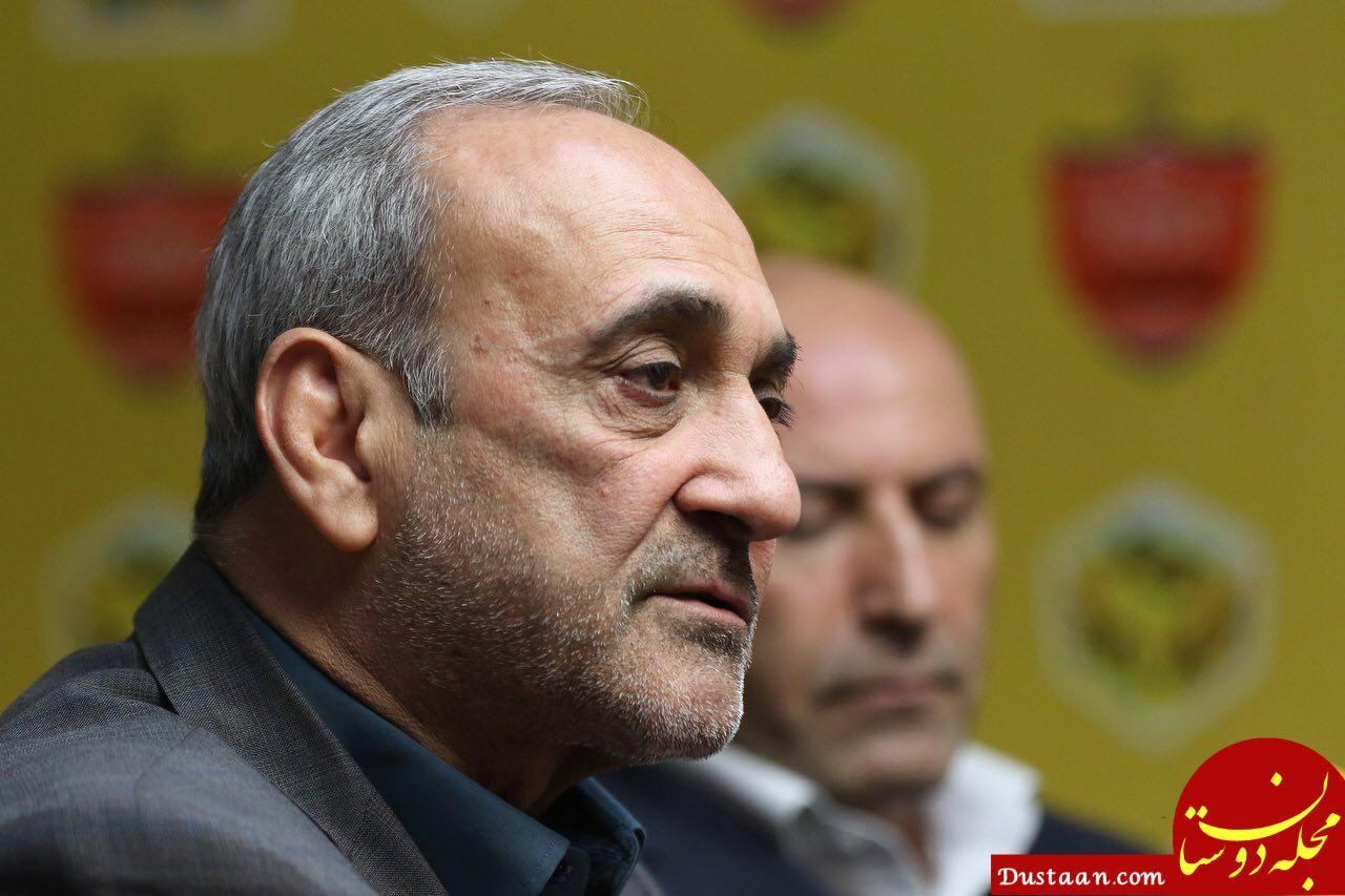 www.dustaan.com جلسه گرشاسبی با مسئول کانون هواداران و کاپیتان های پرسپولیس