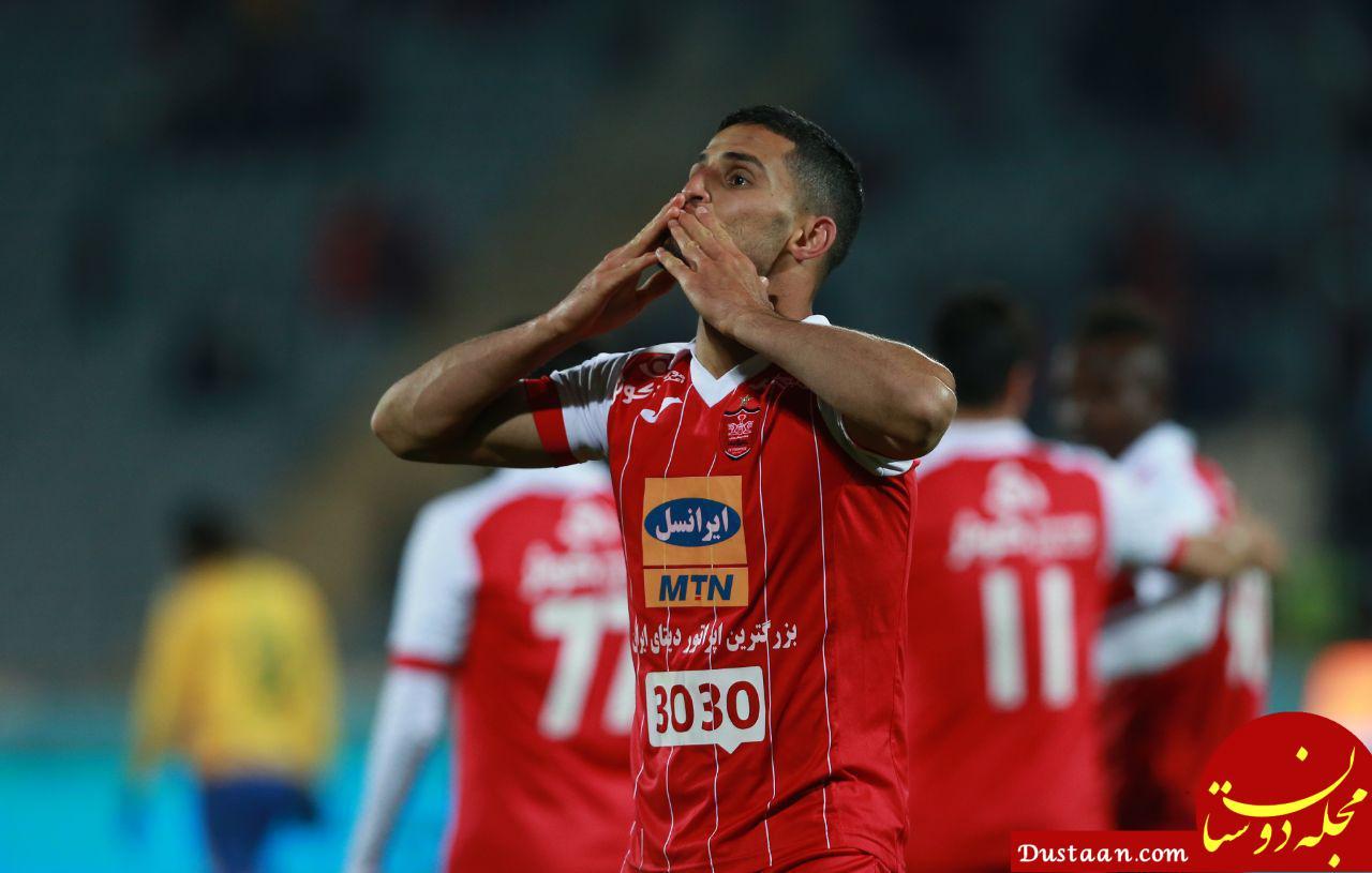 www.dustaan.com واکنش ستاره جوان پرسپولیس به اتفاقات تلخ ورزشگاه غدیر