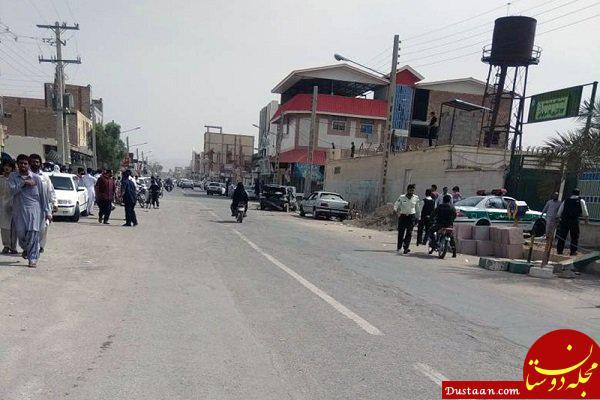 www.dustaan.com جزئیات انفجار شی صوتی در سراوان