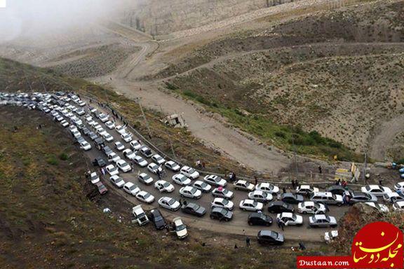 www.dustaan.com جاده چالوس از ساعت 15 امروز یک طرفه می شود