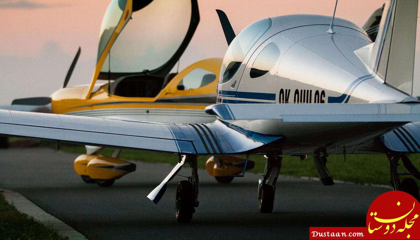 www.dustaan.com تعلیق گواهینامه خلبان هواپیمای فوق سبک
