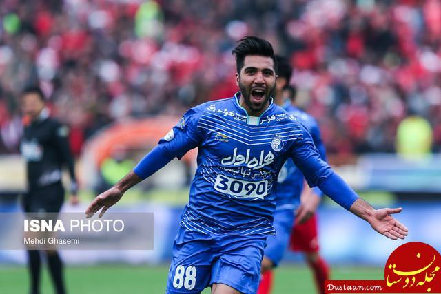 www.dustaan.com پیروزی پر گل استقلال، تراکتورسازی را به قعر جدول فرستاد