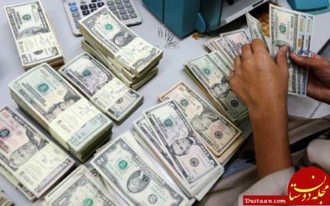 www.dustaan.com نرخ دلار بانکی ثابت ماند/ کاهش 828 ریالی قیمت یورو