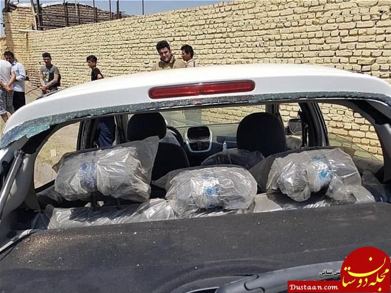 www.dustaan.com واژگونی پژو 207 داخل جوی آب 5 مصدوم برجا گذاشت+تصاویر