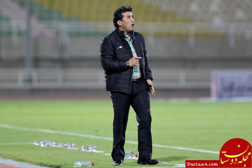 www.dustaan.com عزیزی: سرمربی تیم هستم مگر آنکه اخراجم کنند