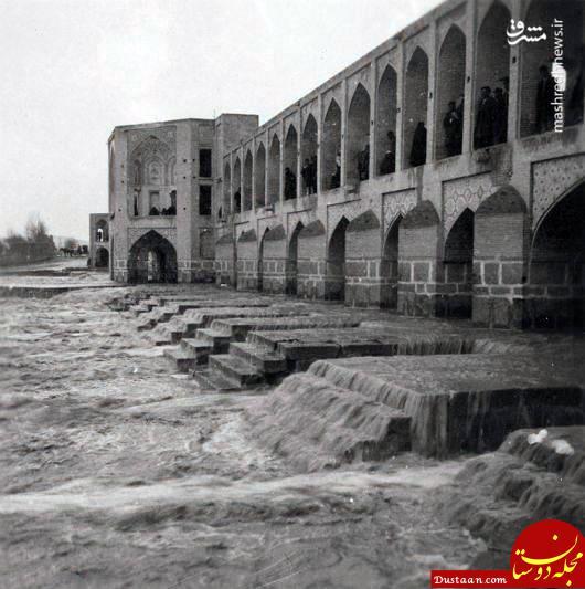www.dustaan.com زاینده رود در عهد قاجار +عکس