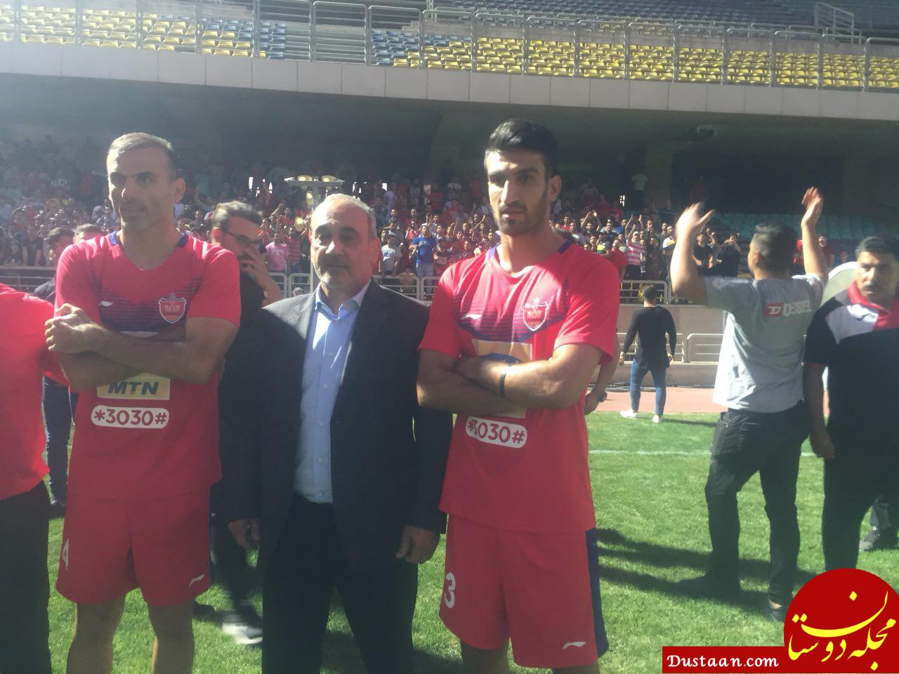 www.dustaan.com عاقبت لیدرپروری در باشگاه پرسپولیس!