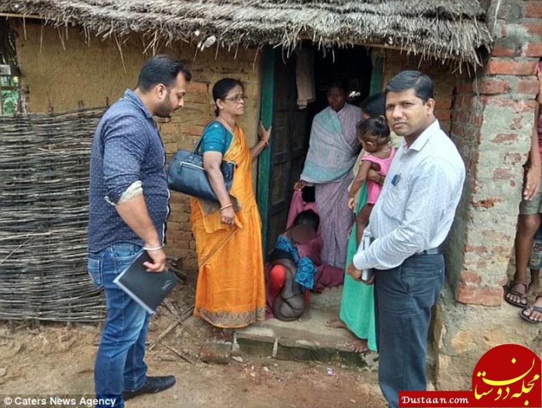 www.dustaan.com دختر نوجوان هندی با دستی 22 کیلویی! +تصاویر