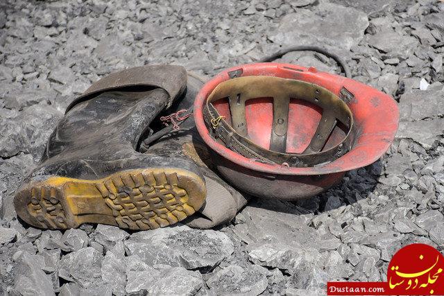 www.dustaan.com 1 کشته و 2 مجروح در حادثه ریزش معدن طلا در ورزقان