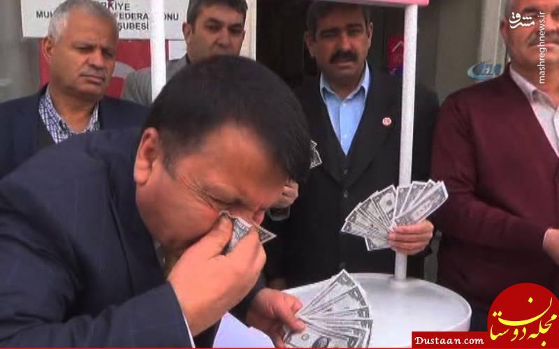 www.dustaan.com پول آمریکا دستمال بینی شهروندان ترکیه ای شد! +عکس