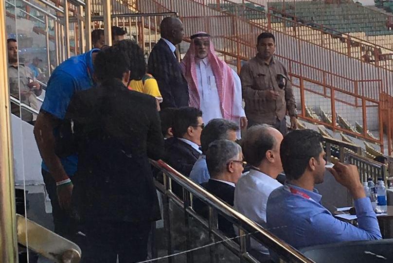 www.dustaan.com درگیری لفظی مهمانان ویژه ایران و عربستان روی سکوهای جاکارتا +عکس