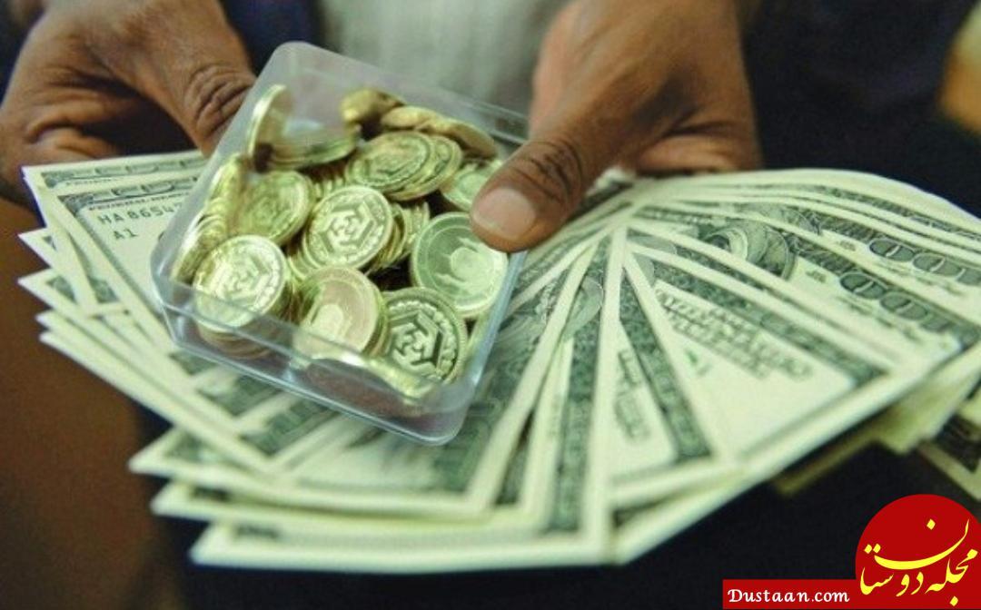 www.dustaan.com کاهش 170 هزار تومانی قیمت سکه در بازار + جدول