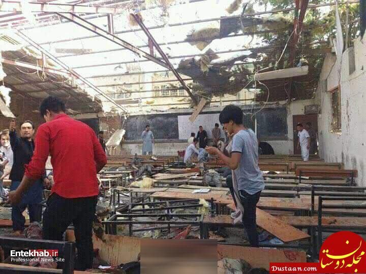 www.dustaan.com عکس های دلخراش از حمله انتحاری به مرکز آموزشی مهدی موعود
