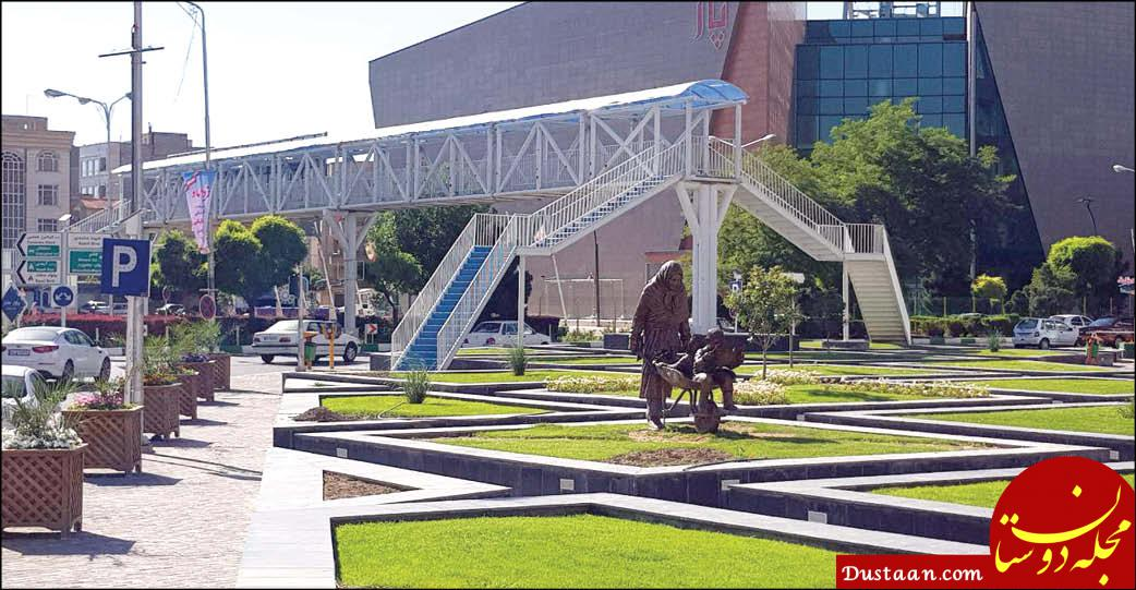www.dustaan.com هیچ جای دنیا پلی نمی سازند که پایینش چراغ قرمز باشد!