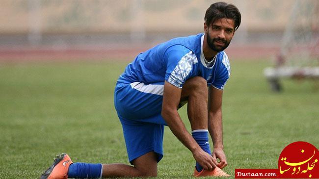 www.dustaan.com سهرابیان: پادو را که دیدم یک چشمم خنده شد، یکی گریه!