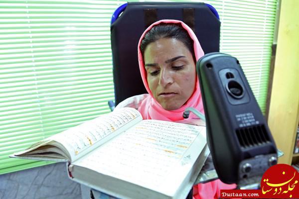 www.dustaan.com سرگذشت شگفت انگیز جوان معلول ایرانی +تصاویر