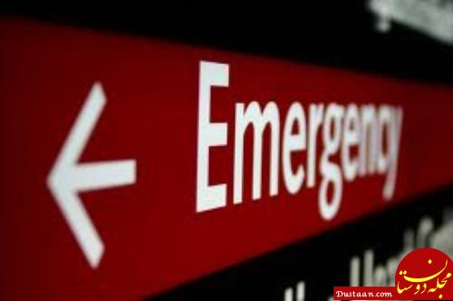 www.dustaan.com بیمارستان، کودک بدحال و اورژانس را راه نداد