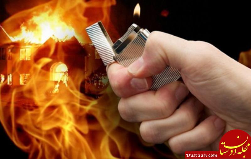 www.dustaan.com آتش زدن 2 مامور شهرداری اهواز توسط افراد متخلف!