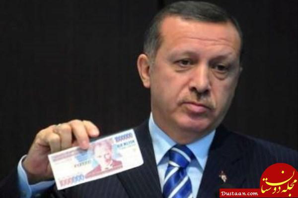 www.dustaan.com کاهش مجدد واحد پول ترکیه در مقابل دلار