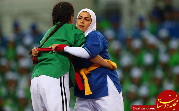 www.dustaan.com بازتاب داوری 4 زن ایرانی در کشتی قهرمانی آسیا