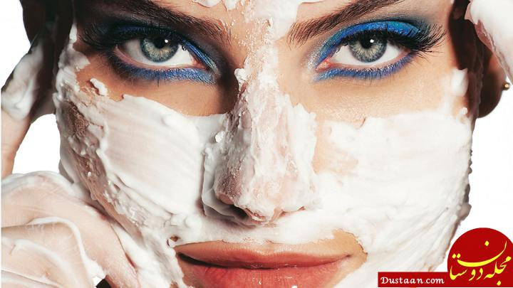 www.dustaan.com معرفی 2 ماسک خانگی برای از بین بردن موهای زائد صورت و بدن