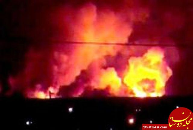 www.dustaan.com 12 کشته در انفجار انبار تسلیحات در نزدیکی کربلا