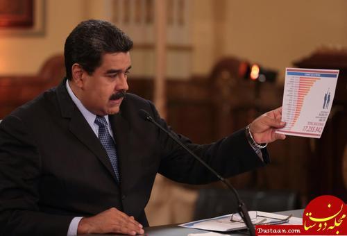 www.dustaan.com ونزوئلا: اعلام پول نفتی جدید از سوی مادورو/ هجوم مردم برای خرید و انبار مایحتاج اساسی از ترس ابرتورم 1 میلیون درصدی