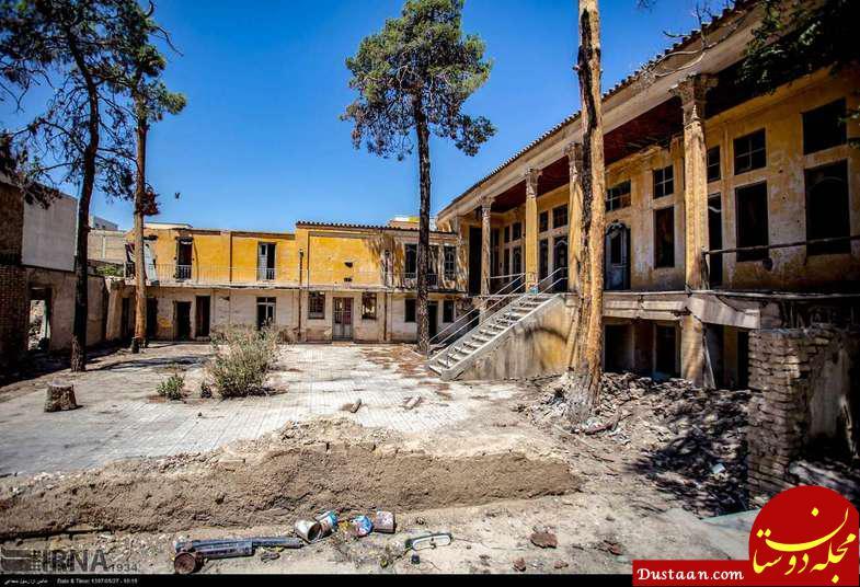 www.dustaan.com ویرانی هتل تاریخی اصفهان! +تصاویر