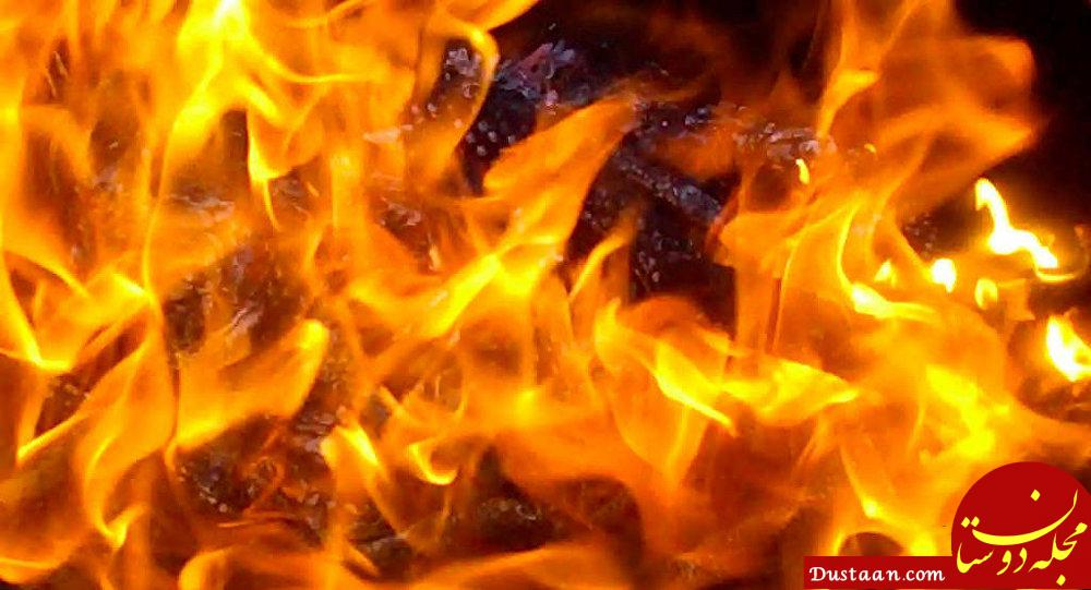 www.dustaan.com به آتش کشیدن دو نفر بخاطر یک دختر