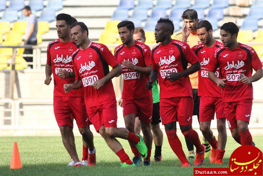 www.dustaan.com برانکو در حاشیه تمرین امروز پرسپولیس: از این که بازی اخیرمان را نبردیم، ناراحت هستم