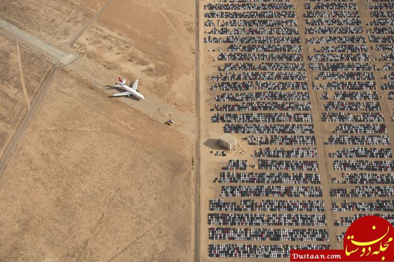 www.dustaan.com گورستان فولکس واگن ها در عکس روز نشنال جئوگرافیک