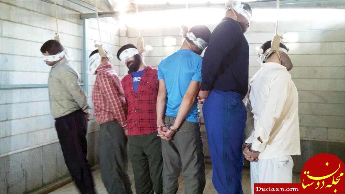 www.dustaan.com حرف های تکان دهنده 6 جوان پیش از اعدام در مشهد  +عکس