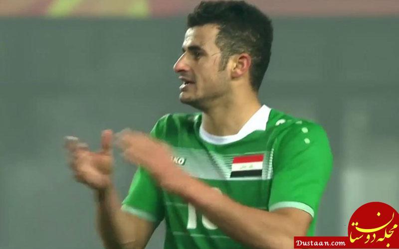 www.dustaan.com بازیکن عراقی و مد نظر تیم پرسپولیس بعد از دیدار با نفت وارد ایران می شود