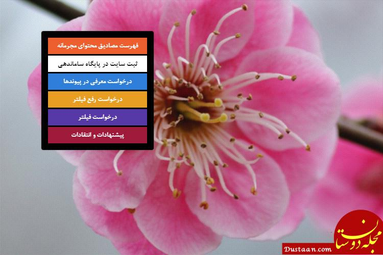 www.dustaan.com از دسترس خارج شدن سایت فیلترینگ وابسته به وزارت ارشاد، به دلیل بدهی 5 ساله 300 میلیونی!
