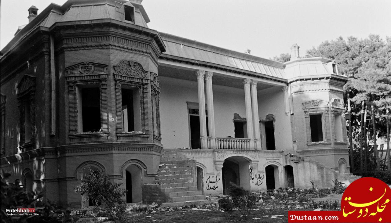 www.dustaan.com غارت منزل دکتر مصدق در حمله عناصر کودتاگر +تصاویر