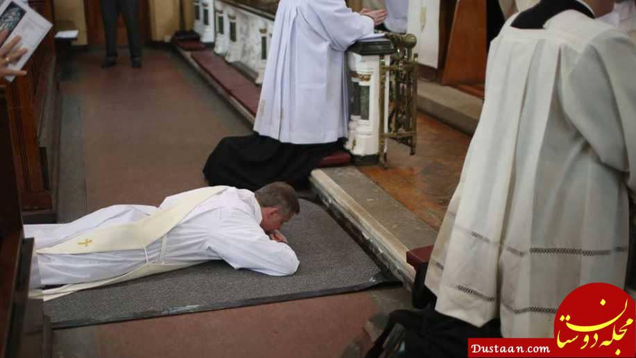 www.dustaan.com رسوایی اخلاقی برای یک چهره مذهبی سرشناس +عکس