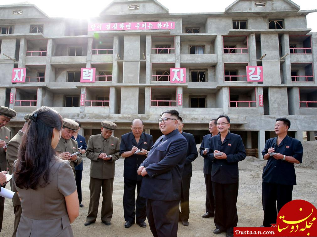 www.dustaan.com رهبر کره شمالی و همسرش در سرزمین پدری +تصاویر