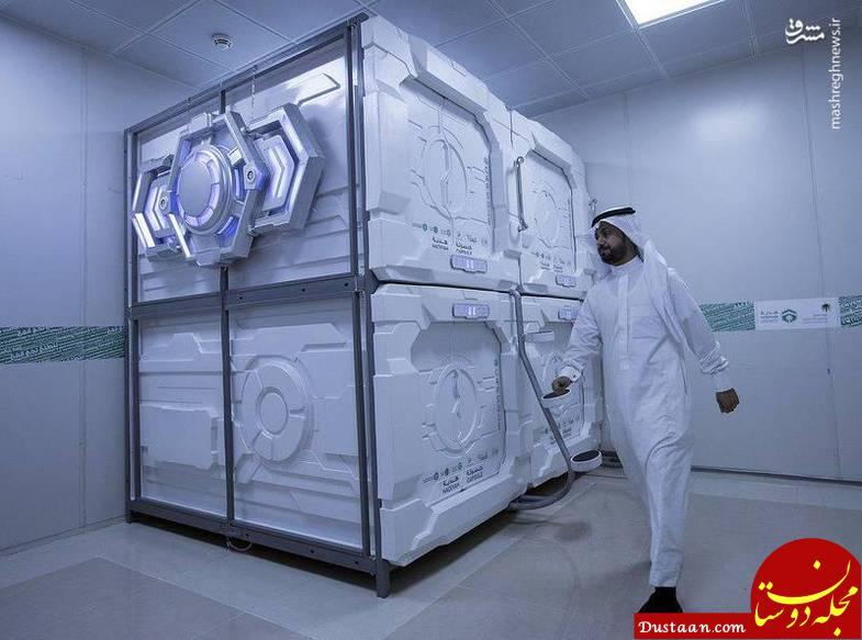 www.dustaan.com استراحتگاه های کپسولی برای حجاج +تصاویر