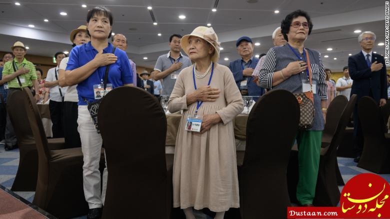 www.dustaan.com لحظه دیدار مادر و پسر کره ای پس از ۶۸ سال +تصاویر