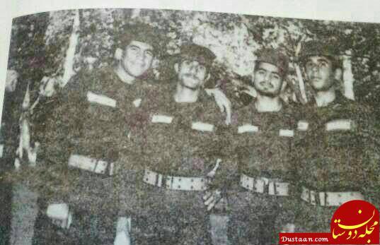 www.dustaan.com روحانی در لباس سربازی +عکس