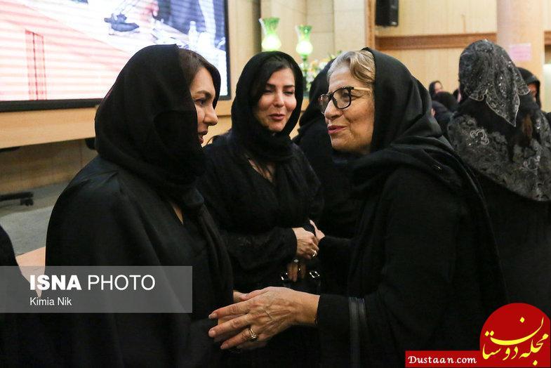 www.dustaan.com بازیگران حاضر در مراسم ختم عزت الله انتظامی +عکس ها