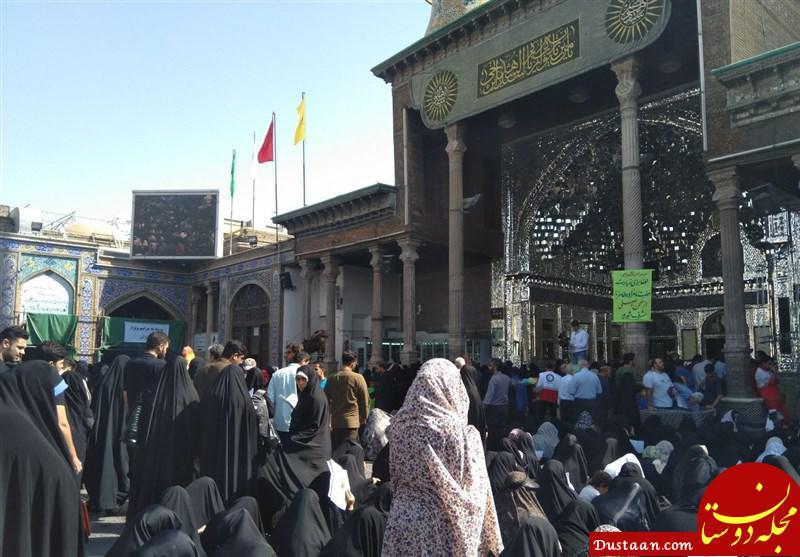 www.dustaan.com تصاویر: تلاقی اشک و عشق در کربلای ایران