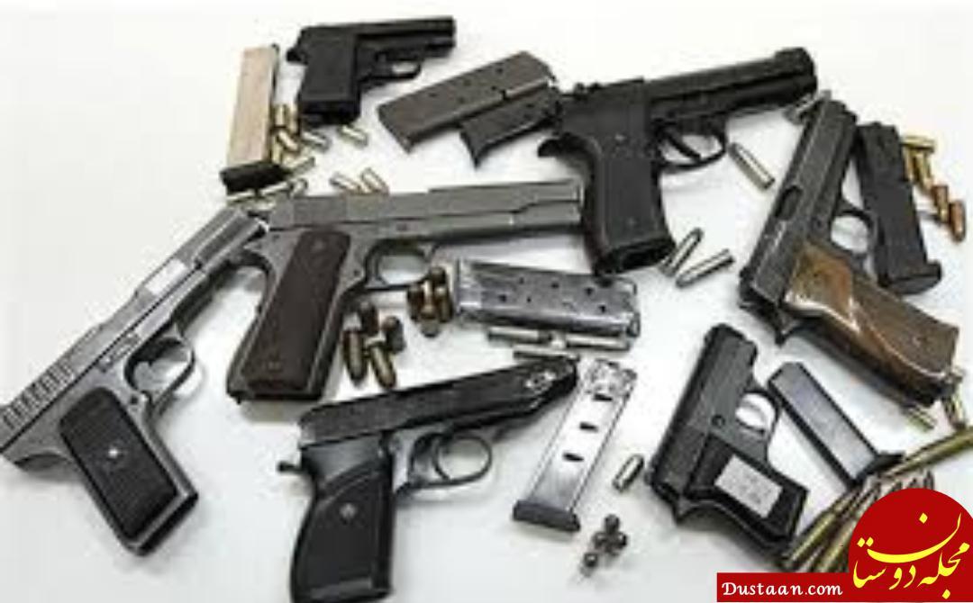 www.dustaan.com کشف سلاح های جنگی و مهمات در نیکشهر