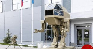 رونمایی از ربات قاتل روسیه ساخت کارخانه کلاشینکف / عکس
