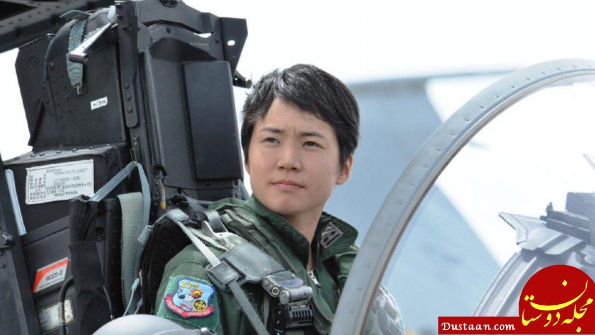 www.dustaan.com نخستین خلبان زن هواپیماهای جنگنده در ژاپن +تصاویر