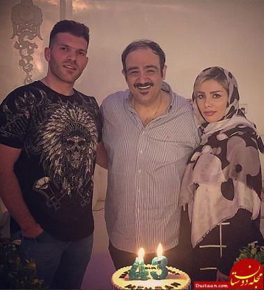www.dustaan.com مهران غفوریان در کنار خانواده اش! +عکس