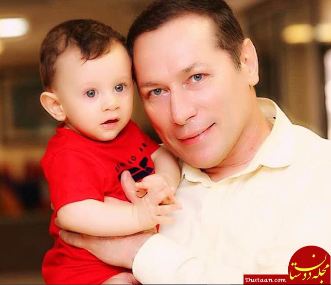 شباهت جالب شهرام فرهادی ، گوینده خبر با پسرش! +عکس