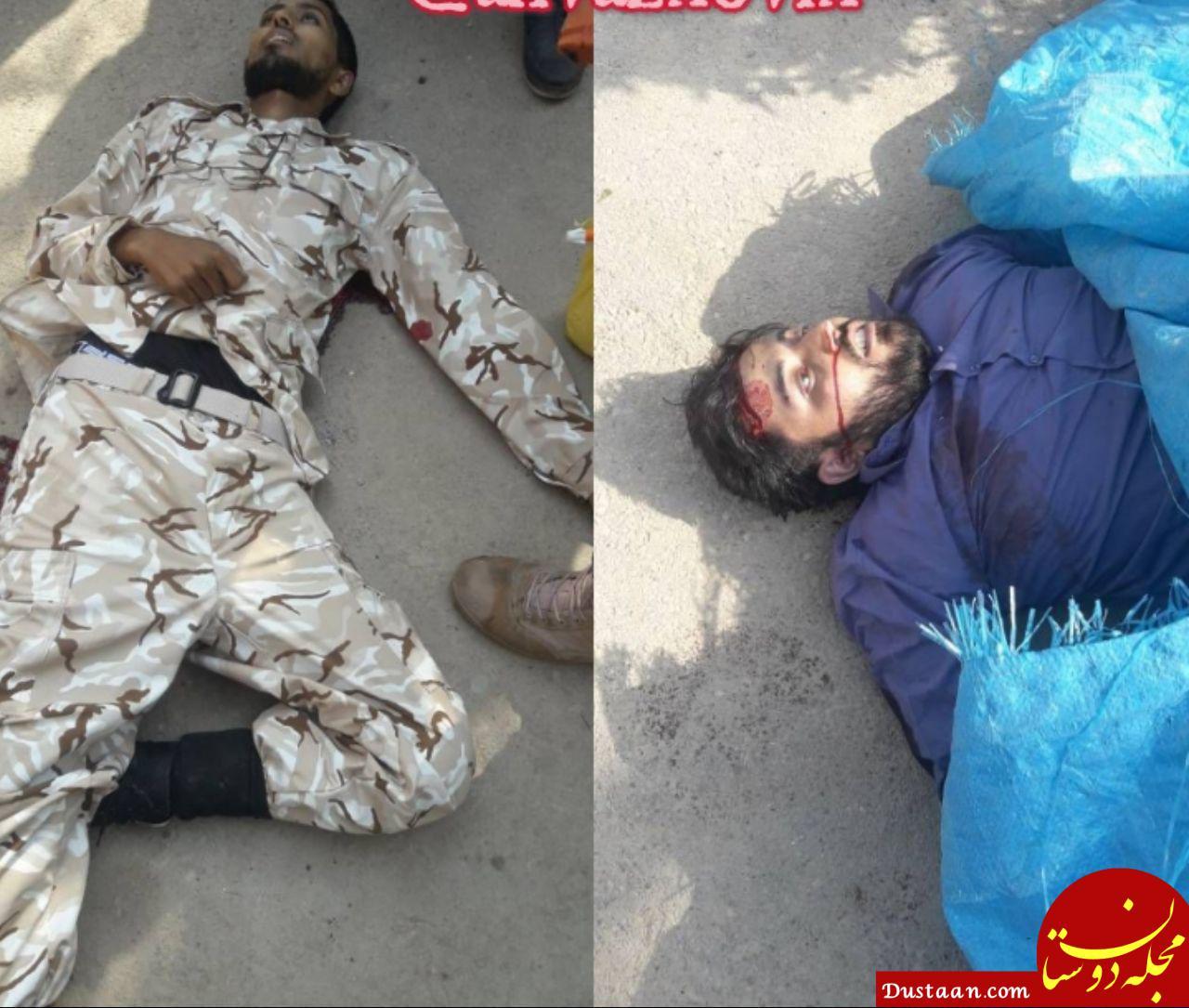 www.dustaan.com اولین تصویر منتشر شده از دو عضو گروهک تروریستی الاحواز